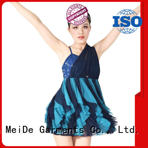 MIDEE professional dress jazz costumes for competition customization competition