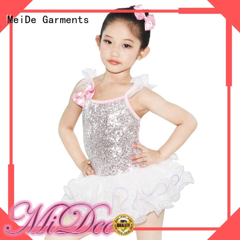 MIDEE anti-wear toddler ballet clothes odm dance school