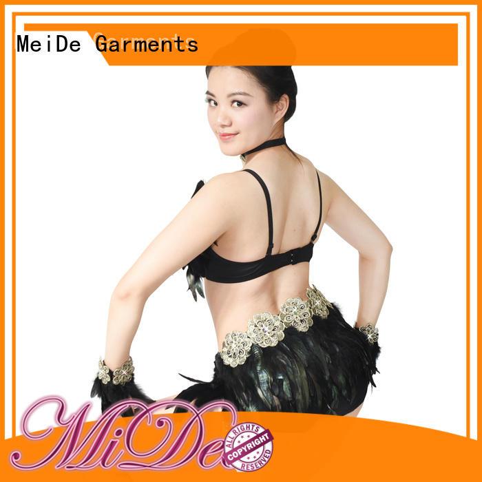 MIDEE jazz dance wear bow Stage