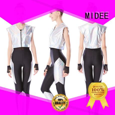 MIDEE sequins jazz dance dress manufacturer performance
