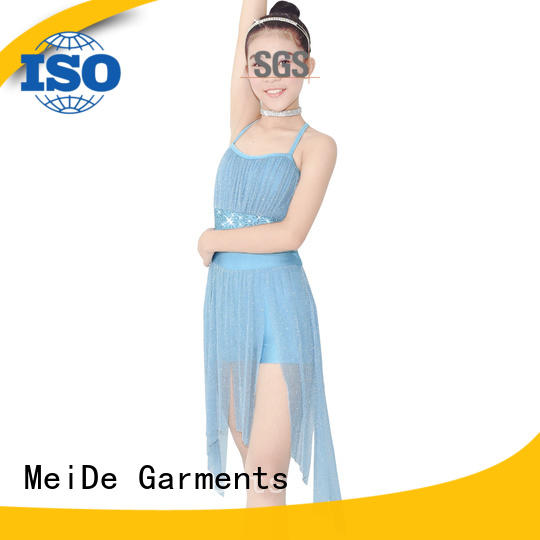 MIDEE camisole lyrical dance costumes custom competition