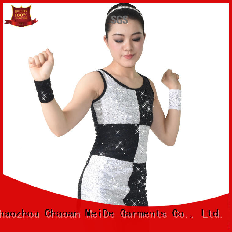 MIDEE sequined jazz outfits ladies customization performance