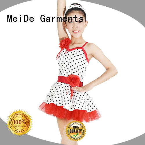 MIDEE adjustable ballet dress toddler factory price Stage