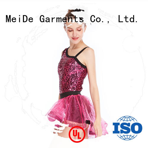 MIDEE contrasting jazz costumes dance solo for wholesale performance