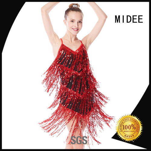 MIDEE black jazz dance dress manufacturer show