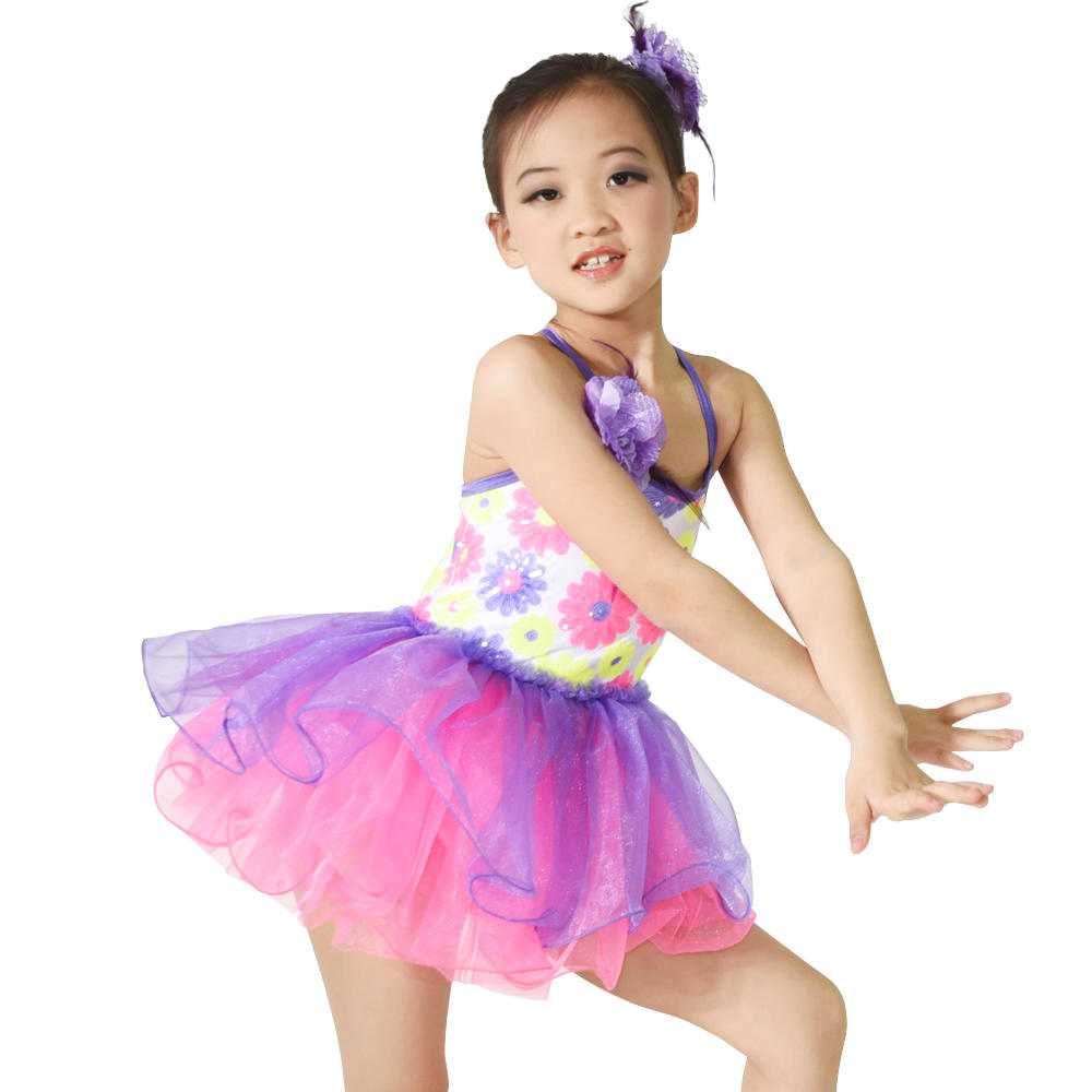 Modern Ballet Tutu Dress Girls Party Wear Dresses Tutu Ballet Kids