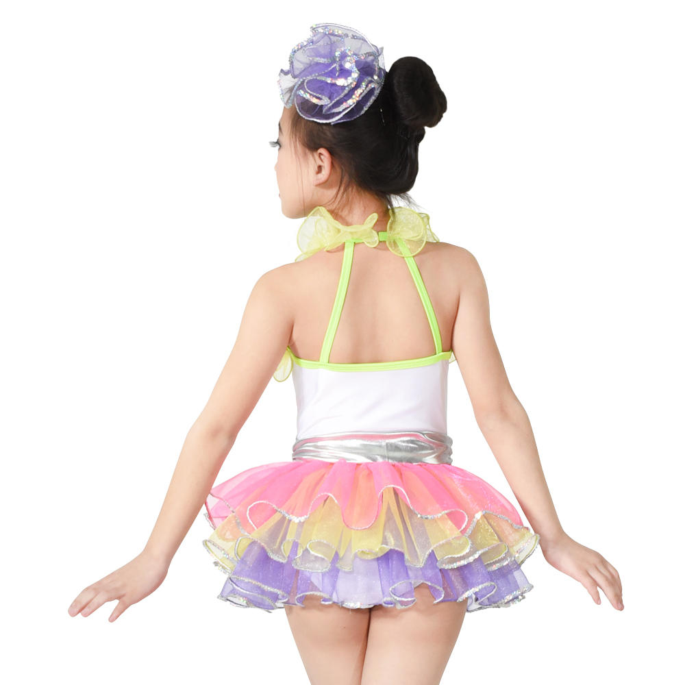 MiDee Kids Ballet   Sequin Skirt Ballet Girl Dress Dance Costume