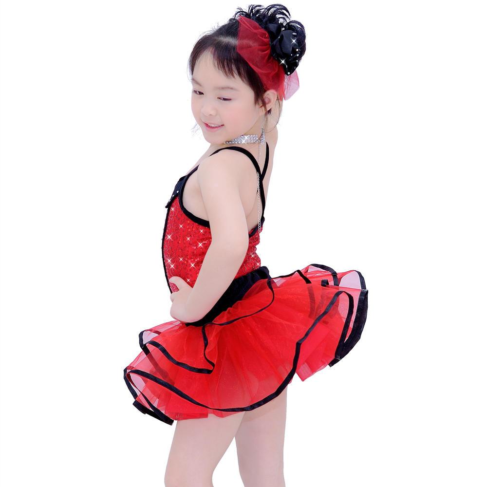 MiDee Fashion Lyrical Dance Costumes Ballet Tutu Performance Wear