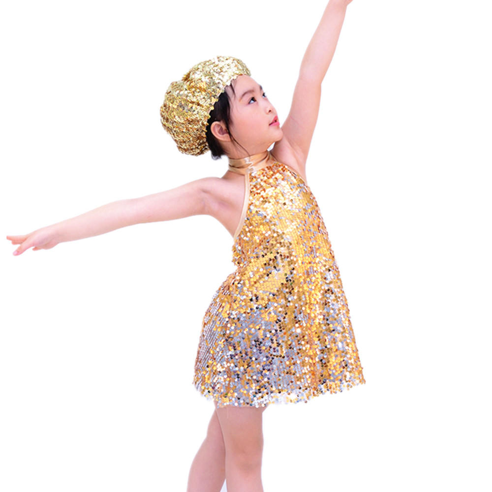MiDee  SequinsJazz & Tap Dance Dress Latin Dance Costume
