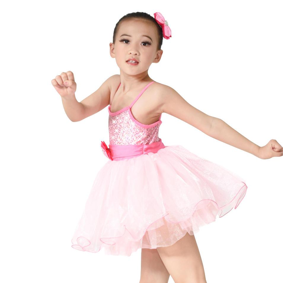 MiDee Children Ballet Tutu Skirt Kids Party Dresses Flower Girls Dresses