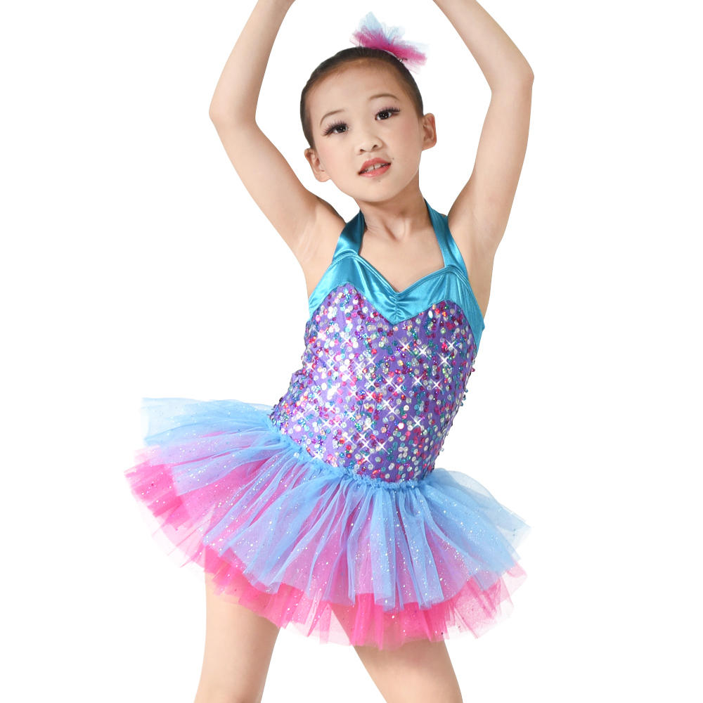 Kids Wedding Flower Dresses Ballet Dress Up Costume Party Dresses For Girls