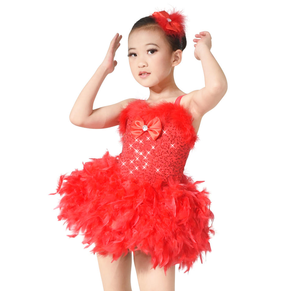 MiDee Sequin Tutu Lyrical Dance Costumes Performance Wear