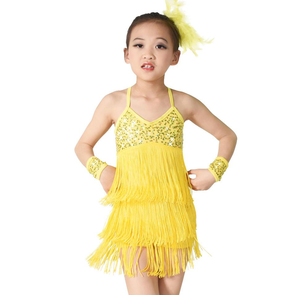MiDee Sequins Leotard Jazz Ballet Dance Costumes Girls Party Wear Dresses