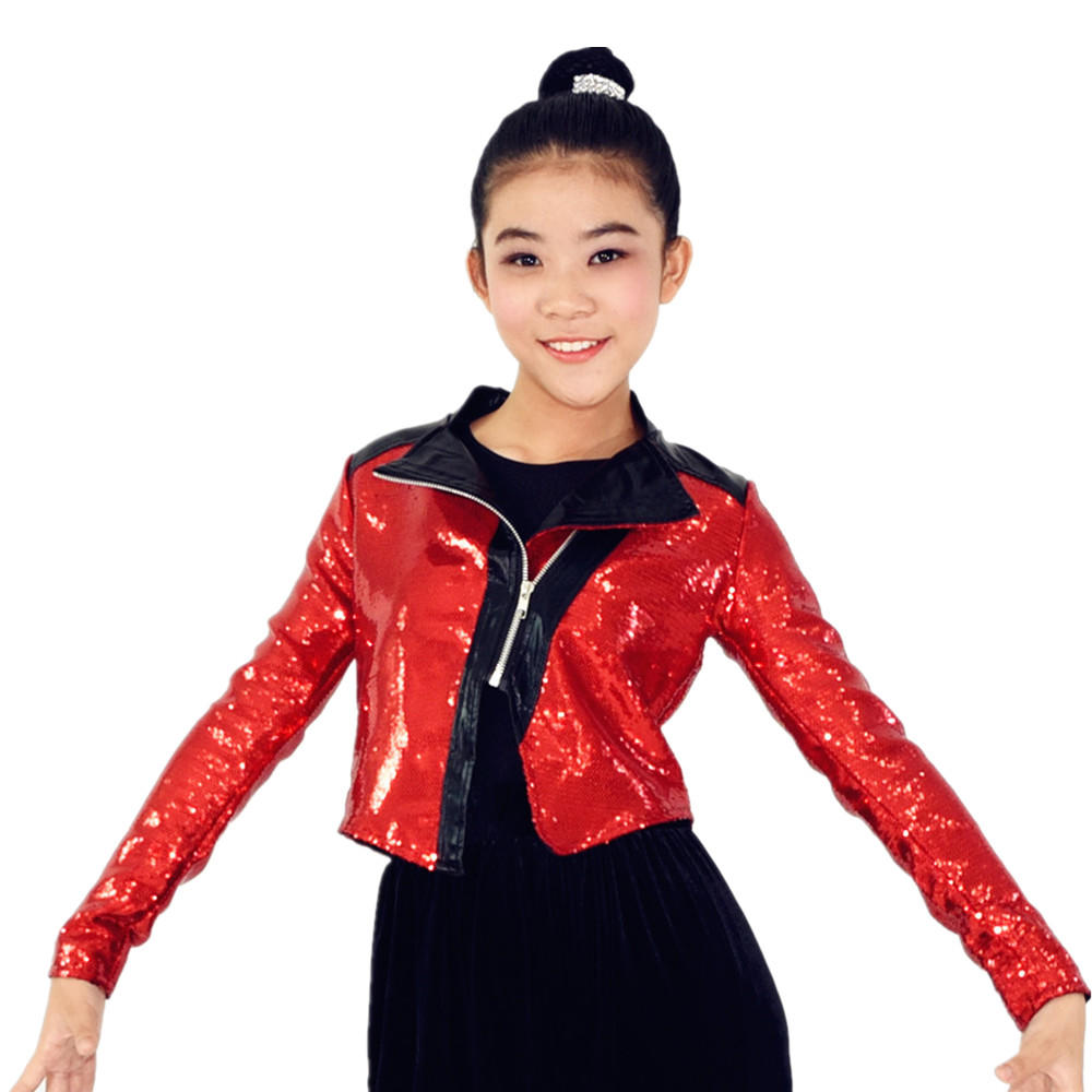 MiDee Leotards Hip Hop Dance Costumes And Performance Costume For Girls