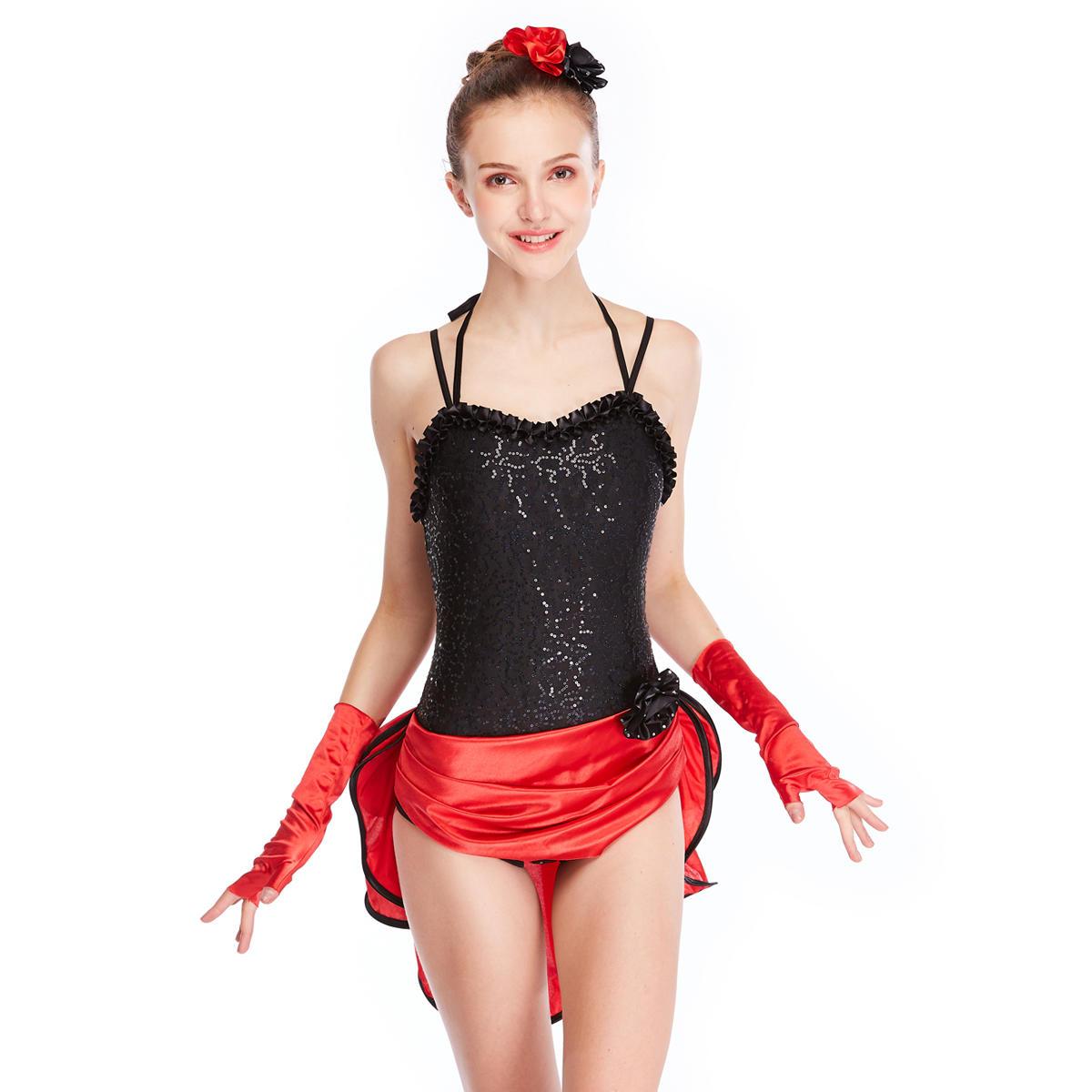 MiDee Sexy Professional  Girl Latin Dance Dress Costumes