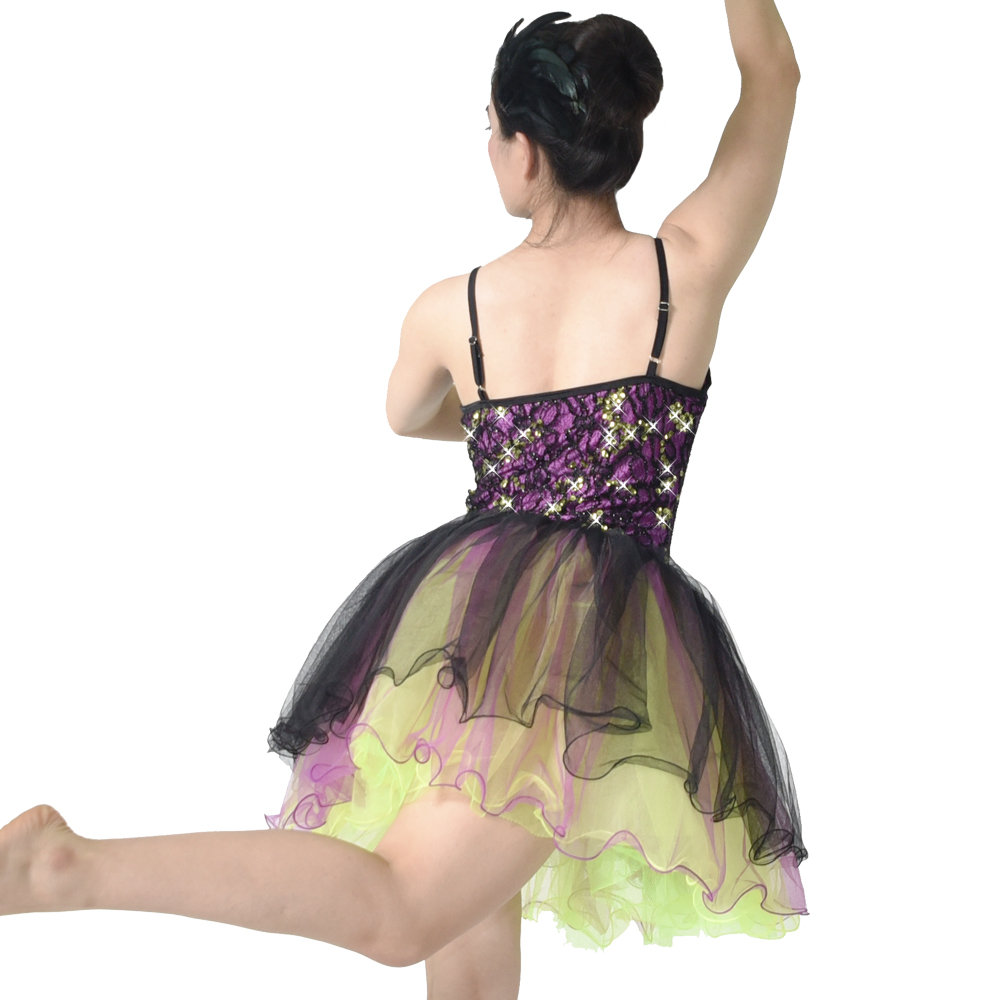 MIDEE comfortable girls ballet costume factory price show-2