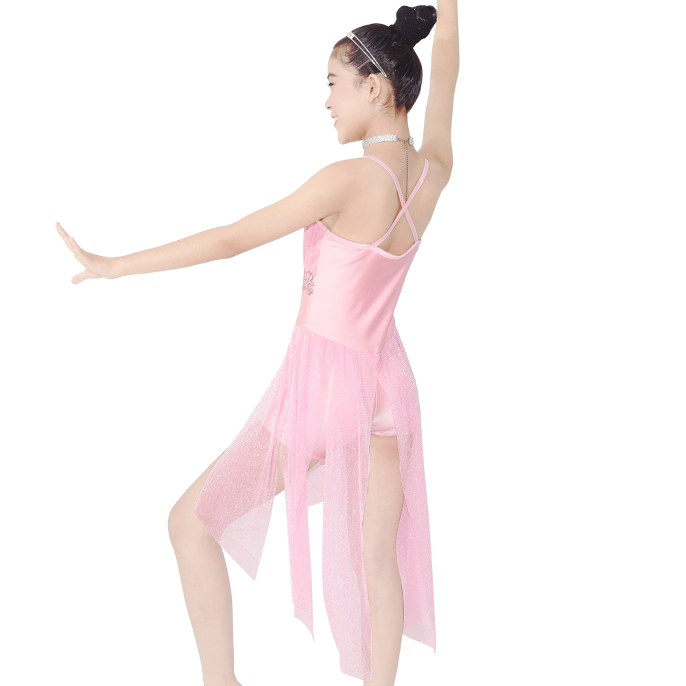MIDEE customization lyrical dance costumes for competition custom stage-2