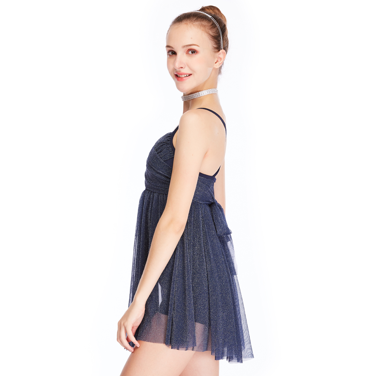 customization dance costumes lyrical floral dance clothes show-1