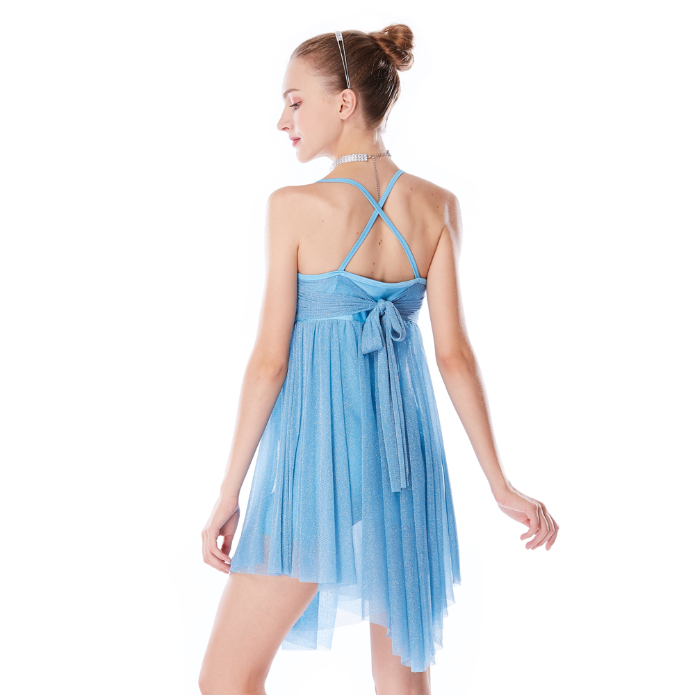 customization dance costumes lyrical floral dance clothes show-2