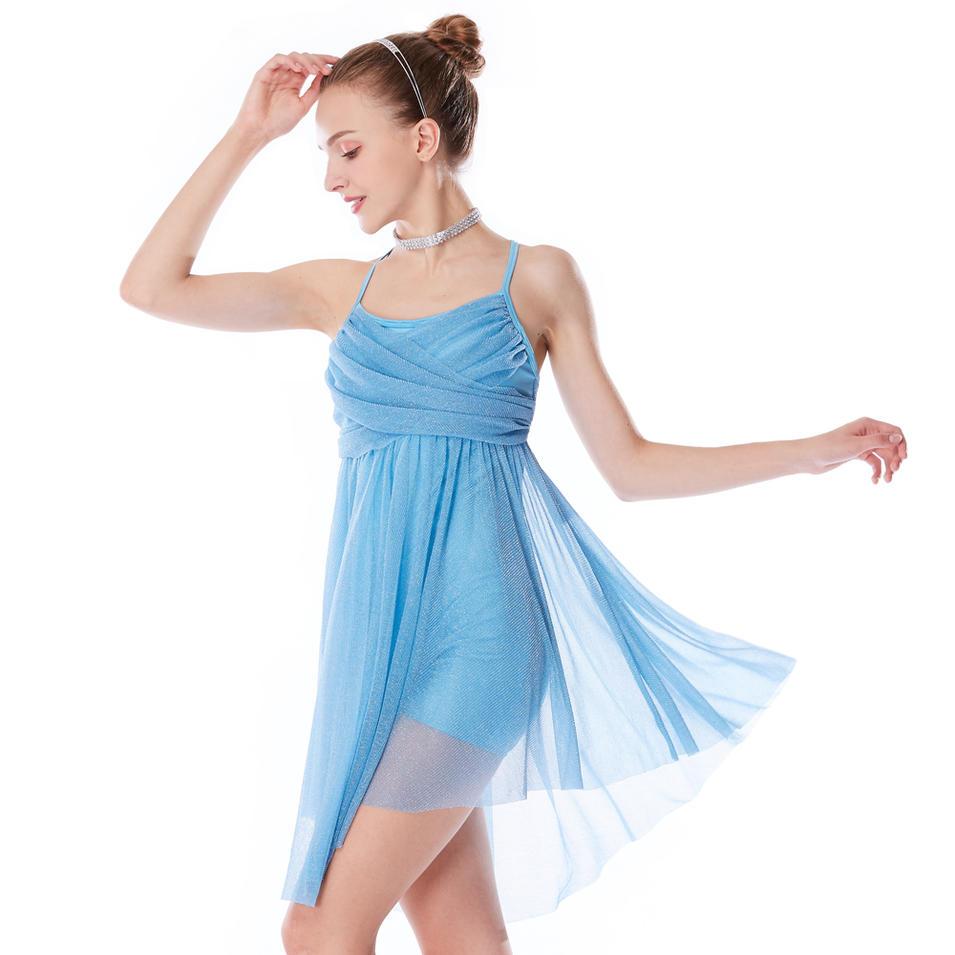 MiDee  Ballet Performance Dance Wear Lyrical Dance Costume Dress