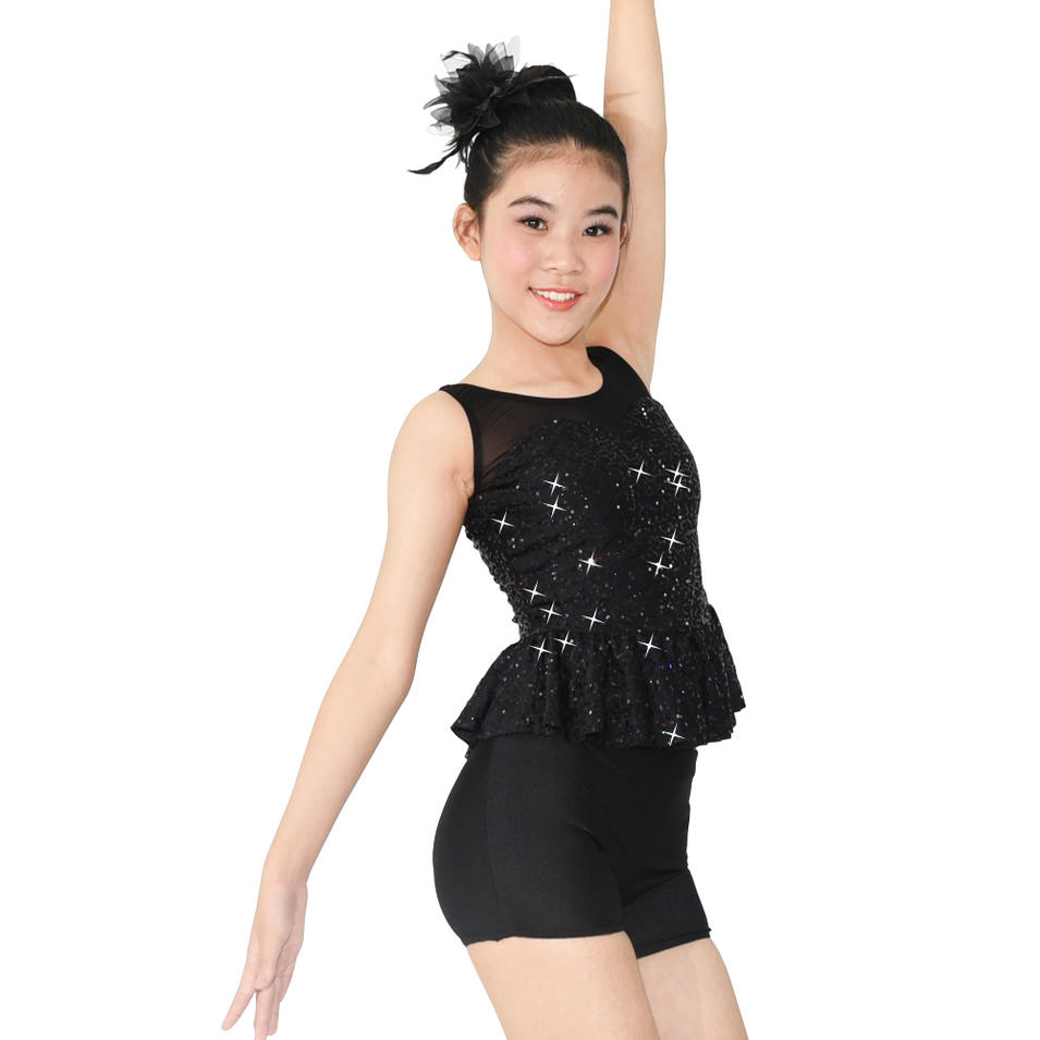 MiDee Sequins Dance Leotard Jazz Dance Wear Costume