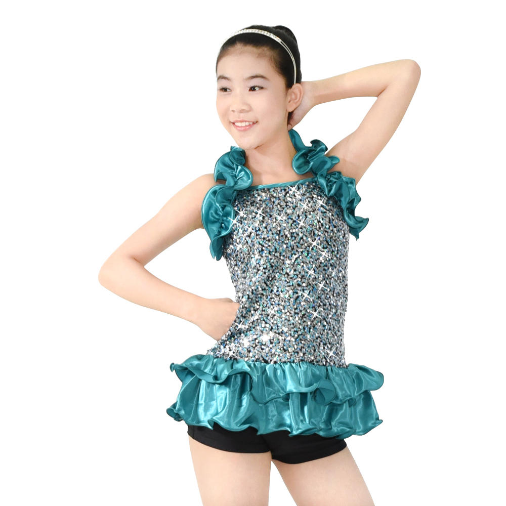 MiDee Contemporary Fashion Sequin Ballet Girls Dance Party Dance Costumes Wear Wholesale