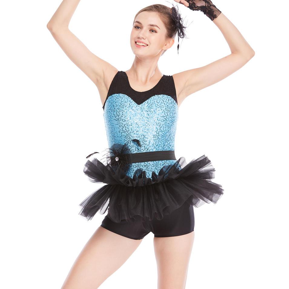 MiDee Professional Adult Ballet Tutu Dresses Fahion Leotard Dance Costumes For Girls