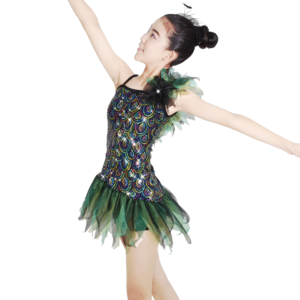 MIDEE fringe latin dance costumes manufacturer competition-2