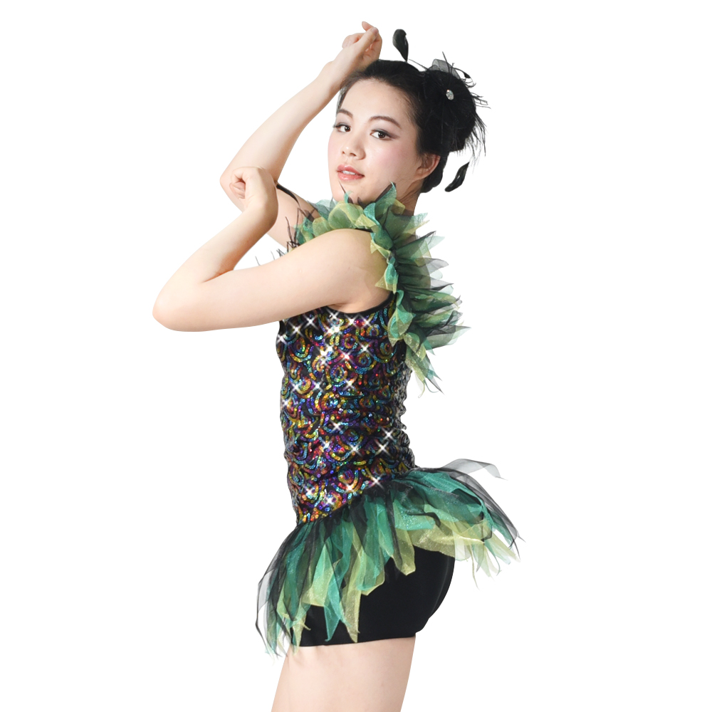 MIDEE fringe latin dance costumes manufacturer competition-1