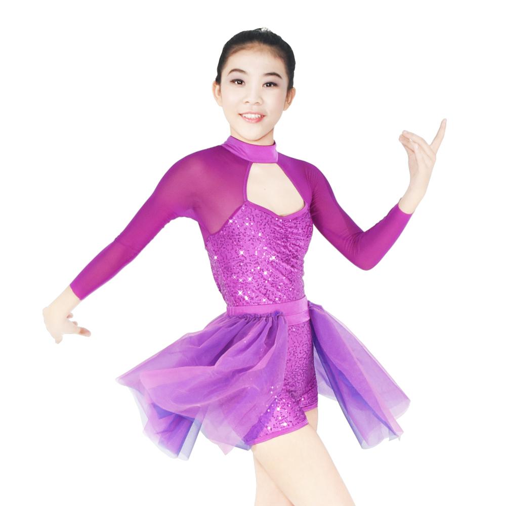 OEM custom lyrical dance costumes performance custom show-1