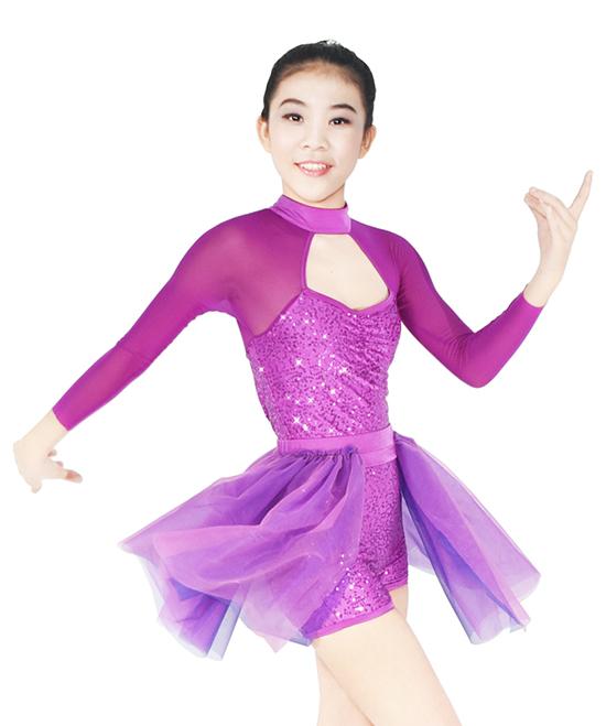 OEM custom lyrical dance costumes performance custom show-2