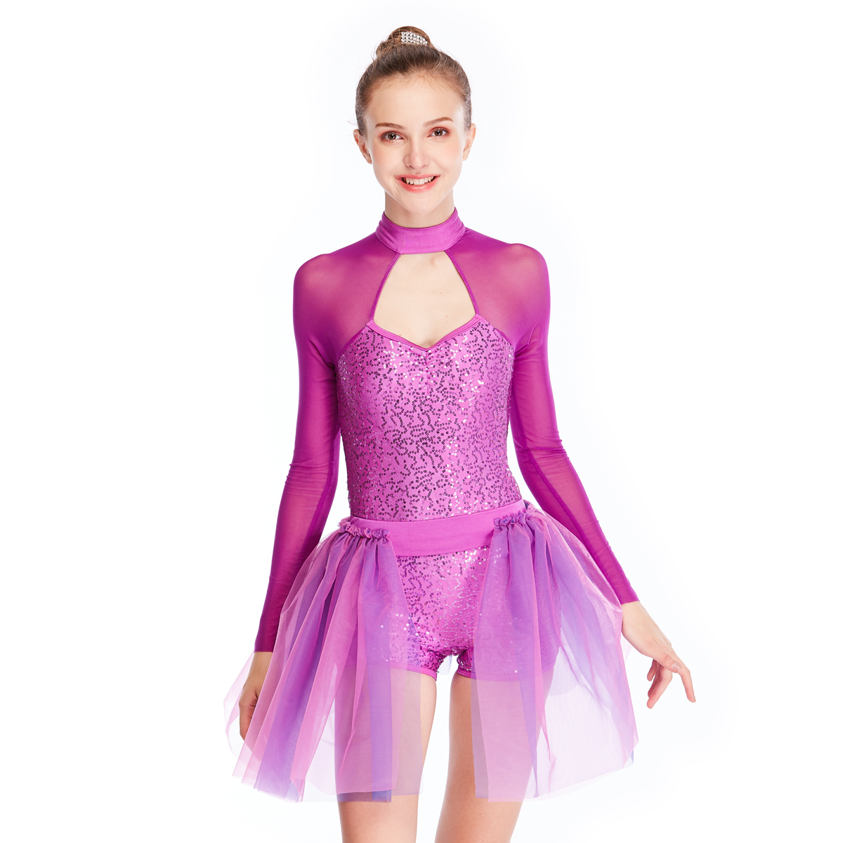 MIDEE long ballet dress toddler odm competition-2