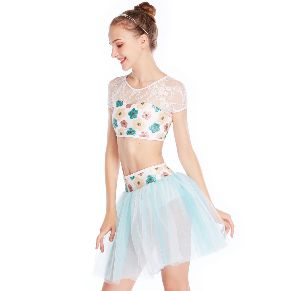 comfortable ballet dancewear black factory price dance school-1