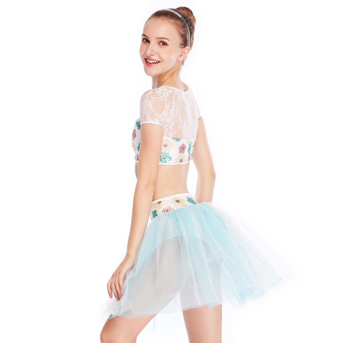 comfortable ballet dancewear black factory price dance school-2