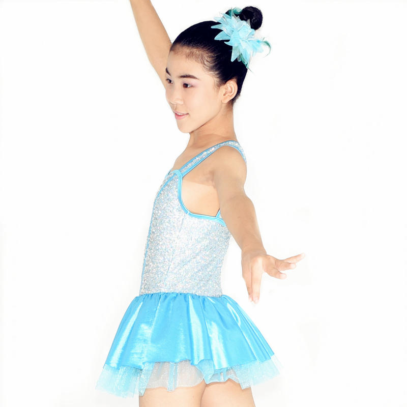 MiDee Performance Dress Jazz Style Dancing Dress Costumes For Girls