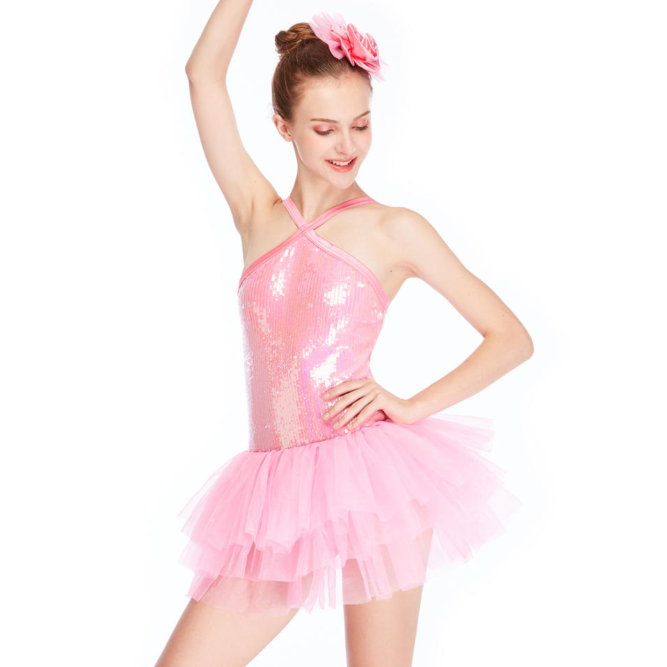 MiDee Ballet Tutu Dress Children Stage Dance  Costumes For Girls