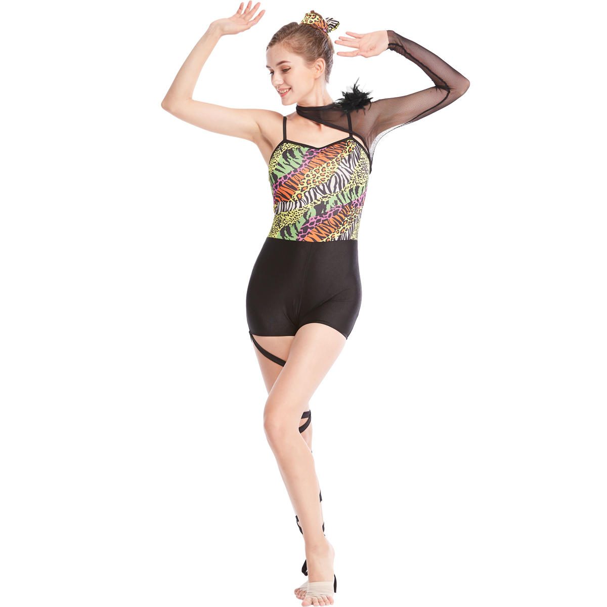 Beautiful Dance Costume Dress Jazz Dance Costumes For Children And Adult