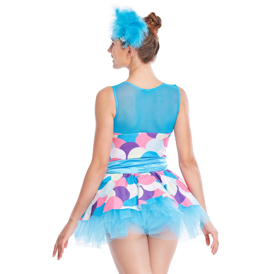 MiDee Children Jazz Dress Dance Costume