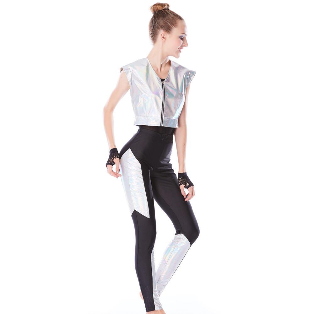 MiDee Modern Sleeveless Hip-Hop Jazz Dance Dress Sports Competition Wear