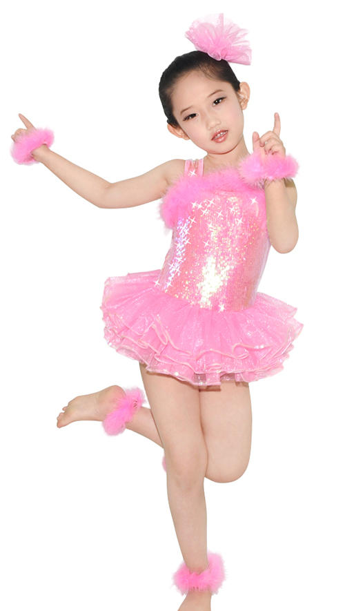 MiDee Elegant Belly Ballet Dance Costume Set Stage Performance Costumes For Girls