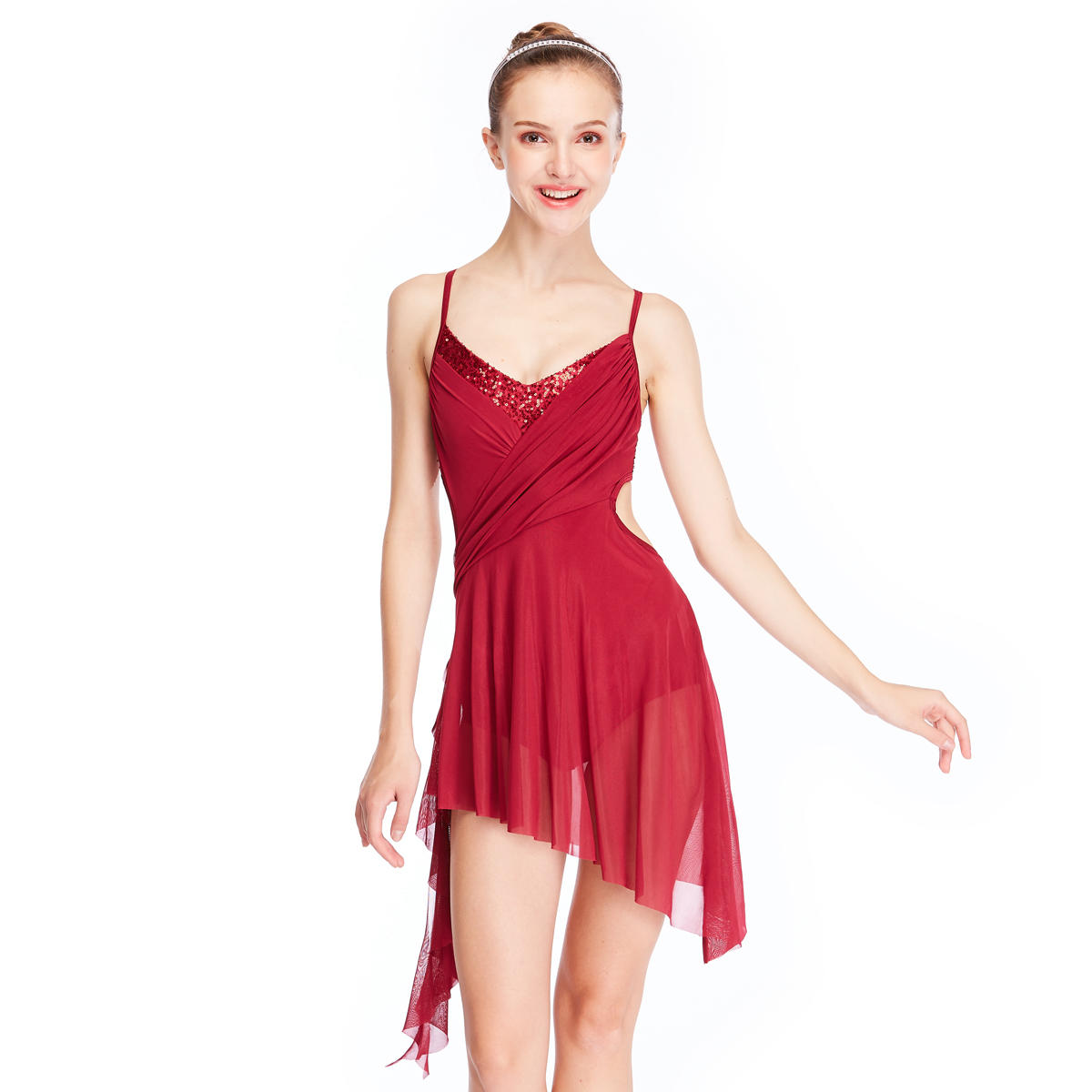 MiDee Modern Stage Performance Costumes Lyrical Ballet Dance Dresses For Girl
