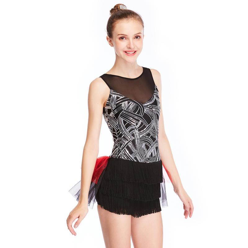 MiDee Dance Costumes Jazz Sequin Hot Dance