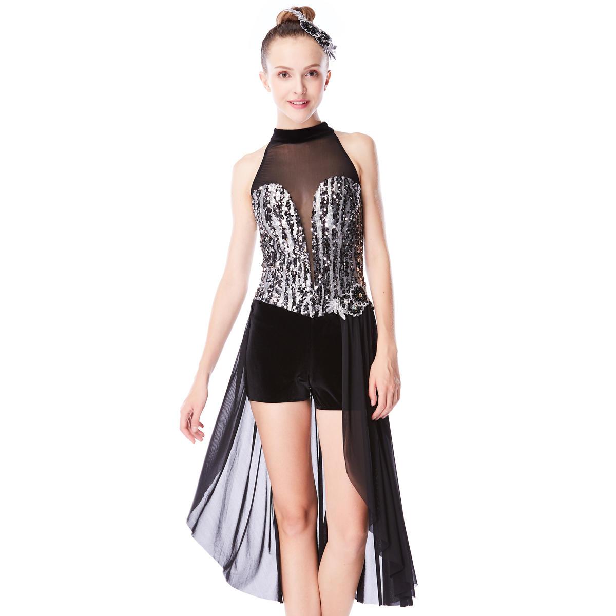 MiDee Sequins Cheap Christmas Adult Ballet Tutu Dance Costume