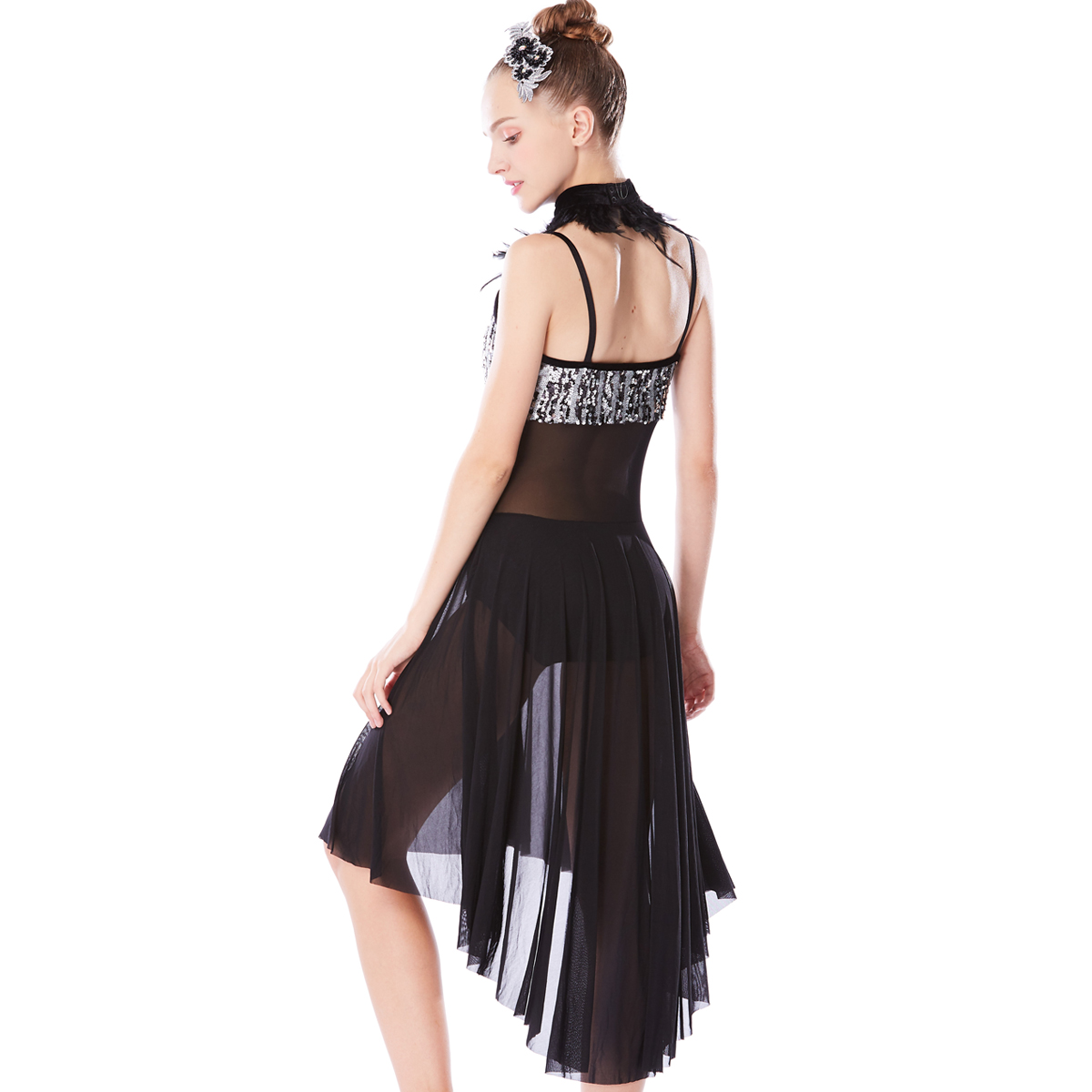 MIDEE modern lyrical contemporary costumes dance clothes stage-2
