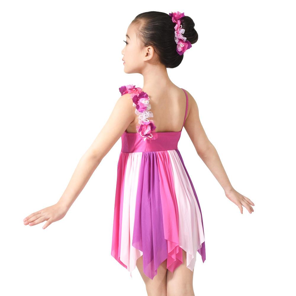 MiDee Modern Dance Costume Children Lyrical Dance Costume Dress For Latin
