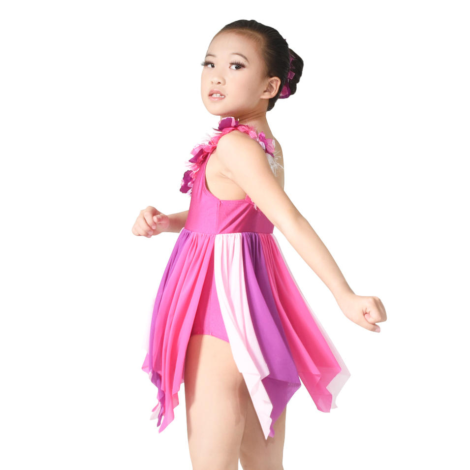 MiDee Modern Dance Costume Children Lyrical Dance Costume Dress For Latin