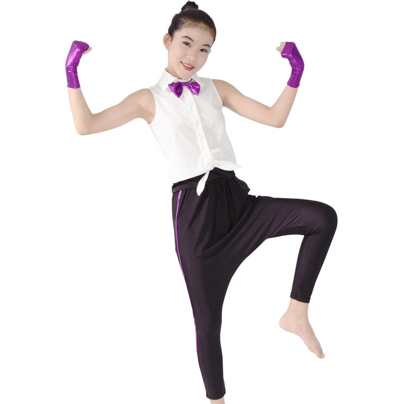MiDee Harem Pants For Hip Hop Dancewear Jazz Dance Dress Sports Competition Gymnastics Wear