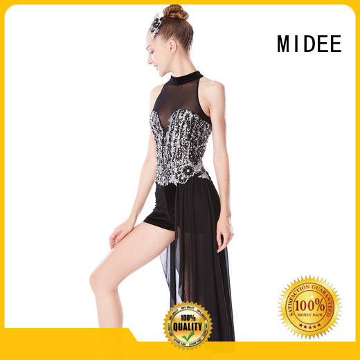MIDEE professional dress jazz dance costumes for girls for wholesale dancer