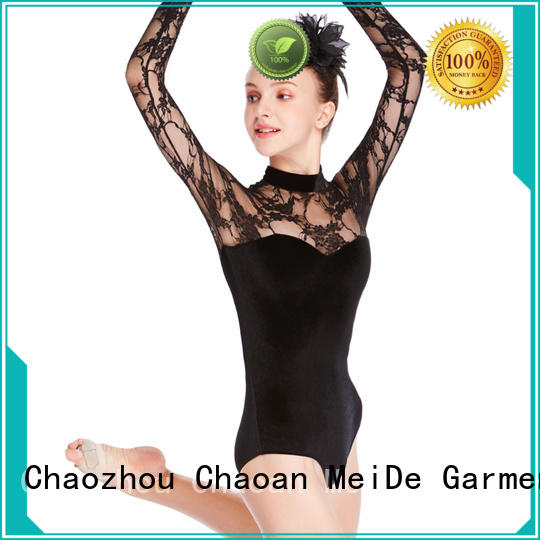 MIDEE lace ballet leotards for girls factory price performance