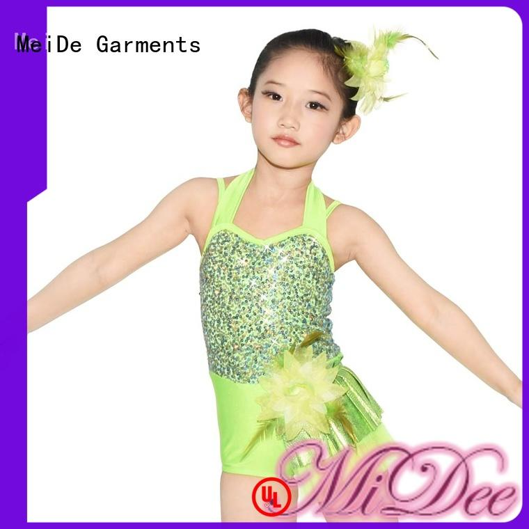 MIDEE adjustable girls ballet outfit costume performance